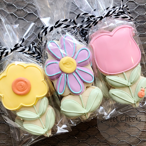 :::FLOWERS for MOM::: single cookie.