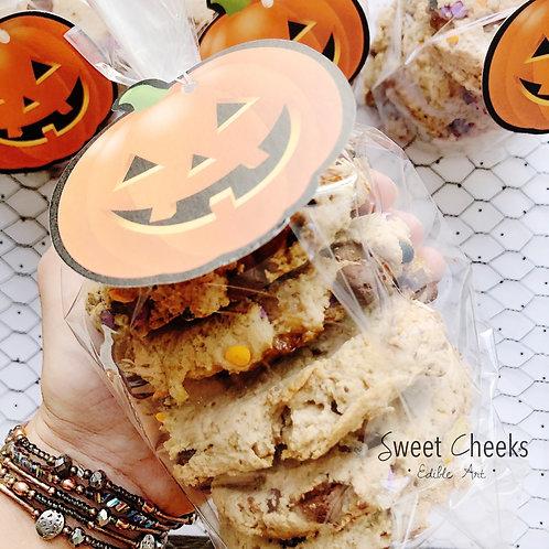 ":::Oatmeal Choc. Chip::: gluten-free, ""gooey"", with a slight crunch!"