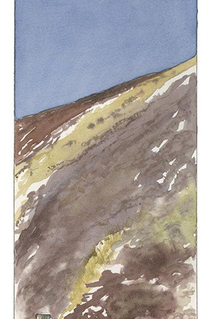 Scotland, into the mountains