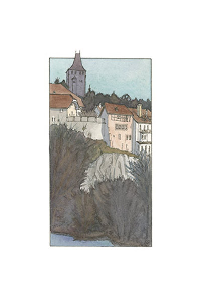 Fribourg, tour gardienne de la ville
