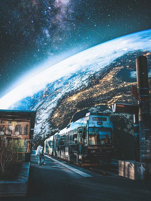 Space Tram Pury