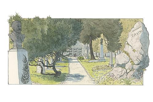 Genève, cimetière des Rois