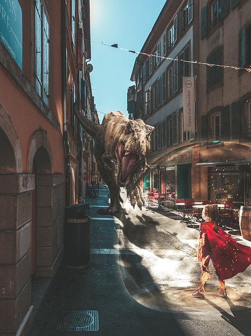 T-Rex at the Mill street