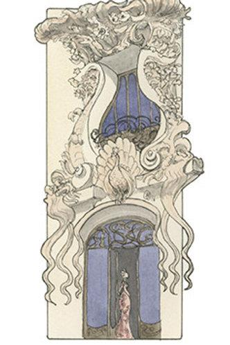 Genève, immeuble des Paons