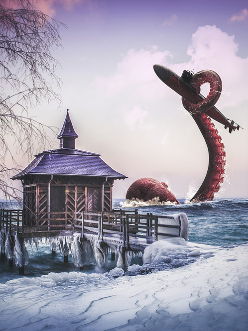 Jules Verne in Neuchâtel Lake