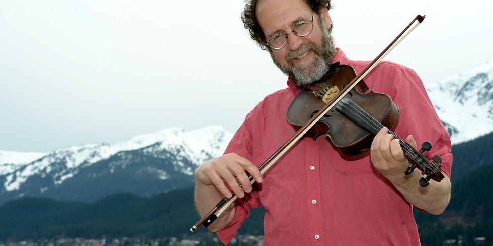 "WCDH Presents a Special Solo Performance of ""Alaska's Fiddling Poet,"" Ken Waldman"