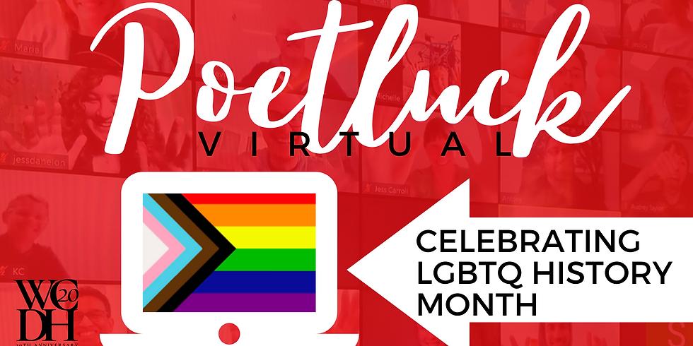 LGBTQ History Month Virtual Poetluck