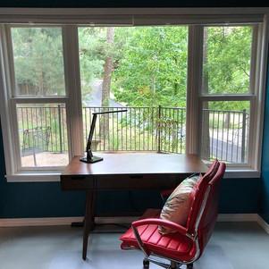 Marianne Moore suite writing room