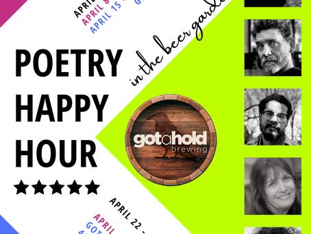 Poetry Happy Hours Benefit Emerging Writers