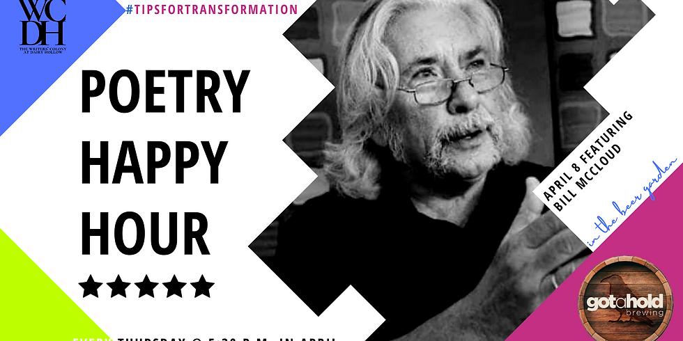 Poetry Happy Hour Features Bill McCloud