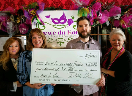 Krewe du Kork Raises Funds for The Writers' Colony
