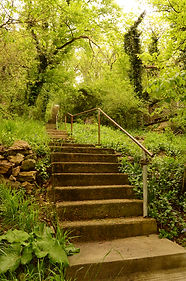 Stairway in Eureka Springs Arkansas