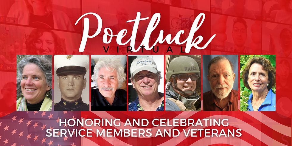 Virtual Poetluck to Honor and Celebrate Service Members and Veterans