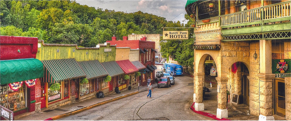 Downtown Eureka Springs photo by Leigh Short
