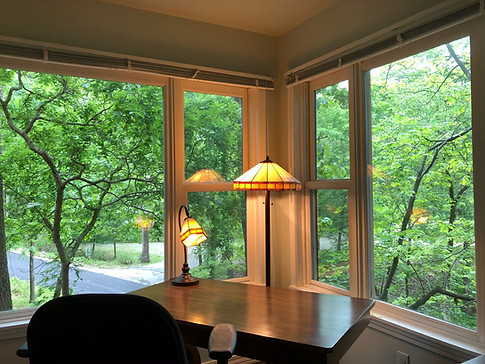Diana Rivers writing room