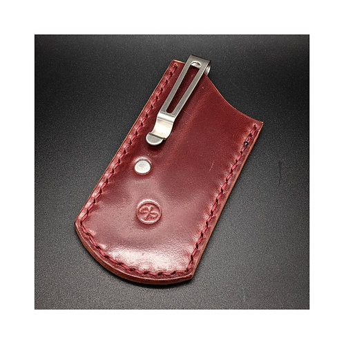 The ClipSlip Shell Cordovan Burgundy - Size S
