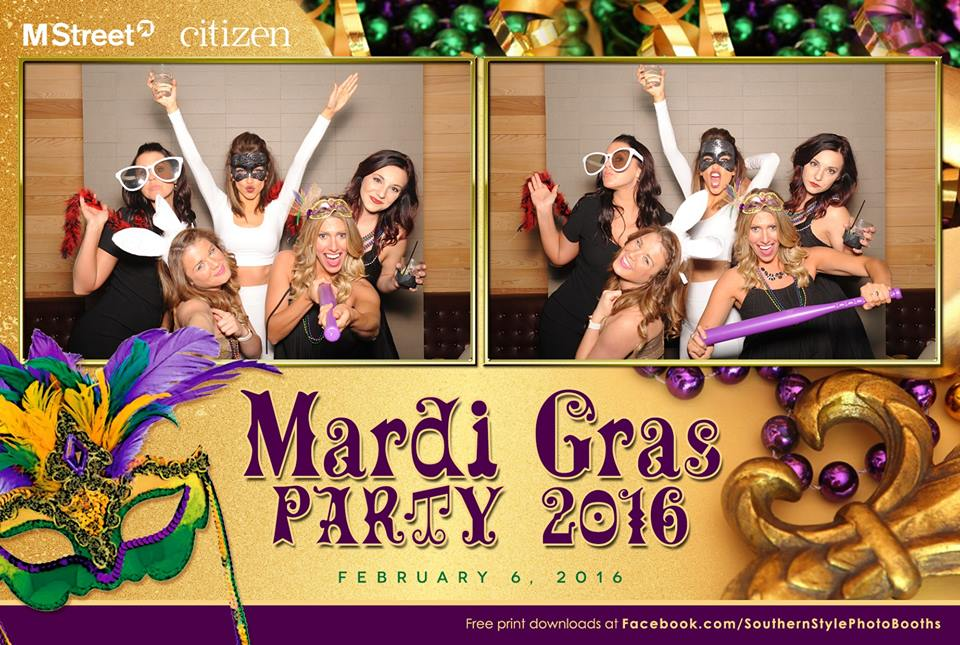 Mardi Gras Party 2016