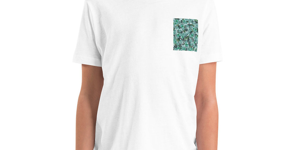Green Pockets Youth Short Sleeve T-Shirt
