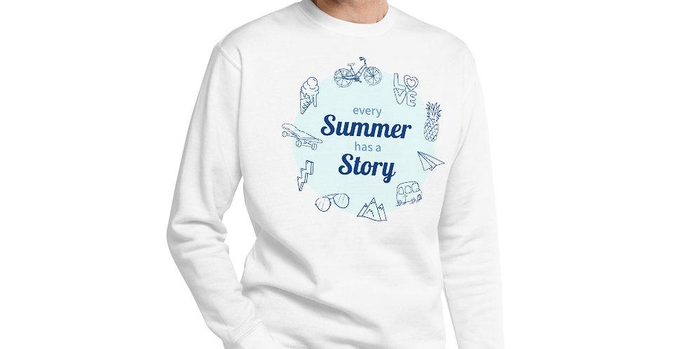 Summer Story Unisex Fleece Pullover