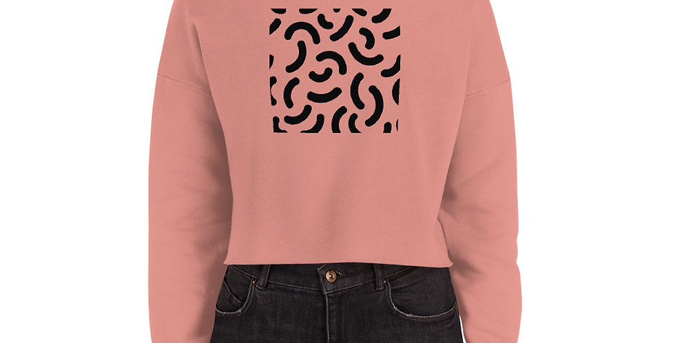 Womens Sweetheart Crop Sweatshirt