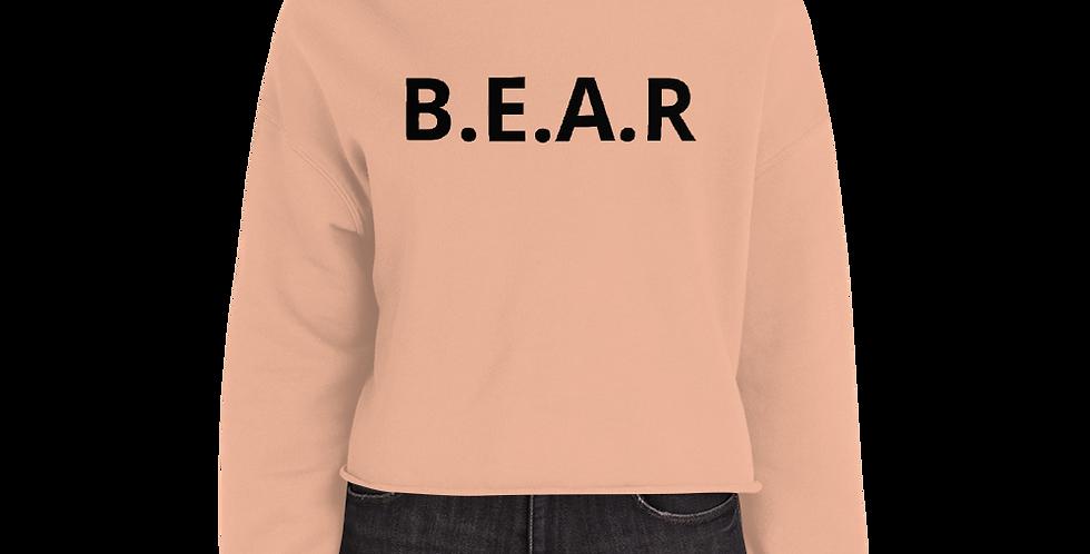 Bearboxers Crop Hoodie