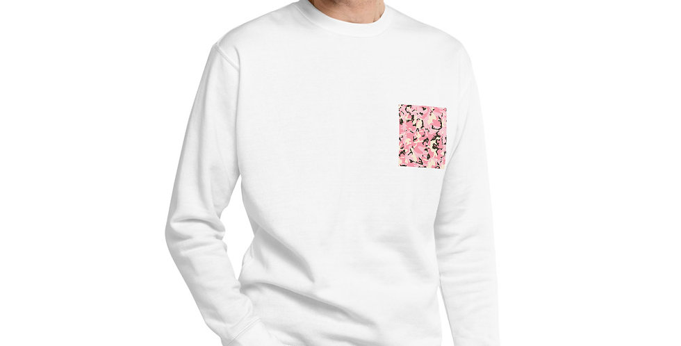 Camo Pocket Designed Sweatshirt