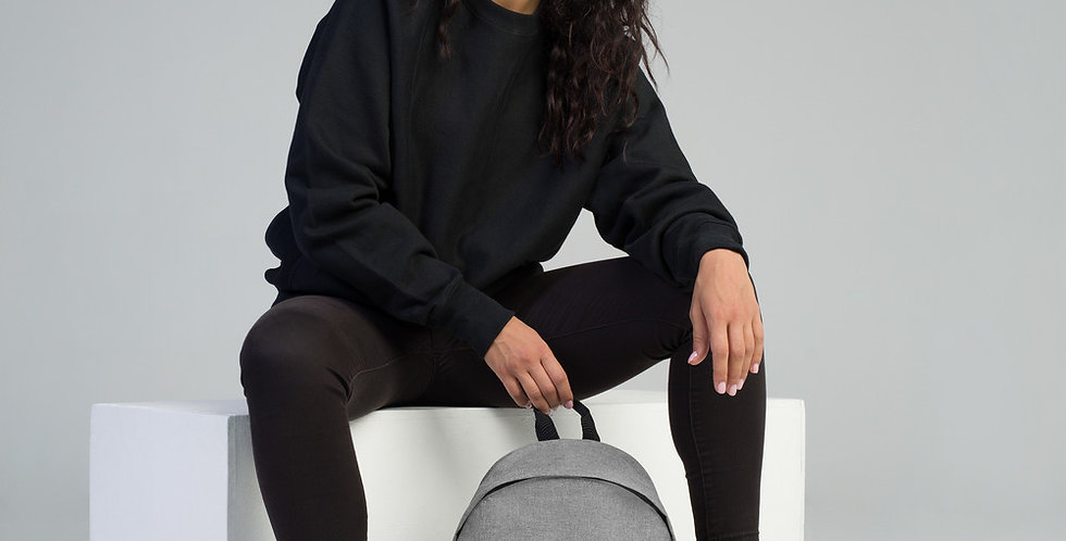 Yes Embroidered Backpack