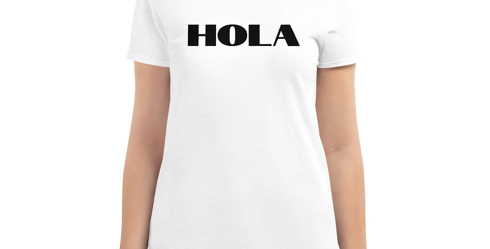 Women's HOLA Short Sleeve T-shirt