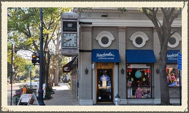 Shop on Park Ave.
