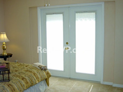 French Doors in Master