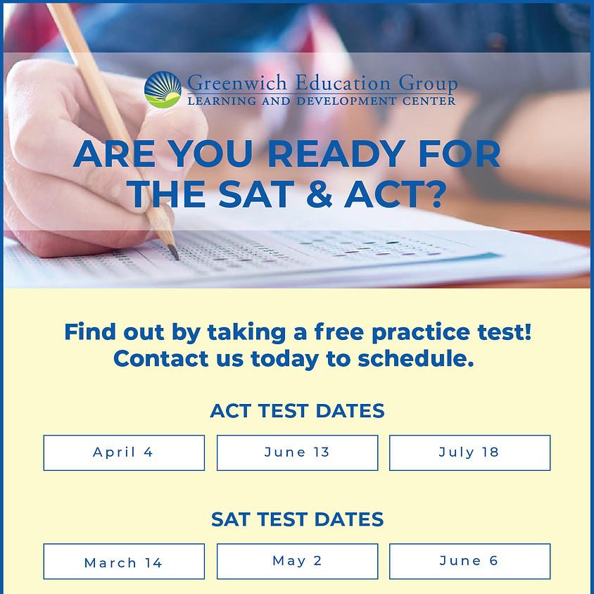 Summer SAT/ACT Prep