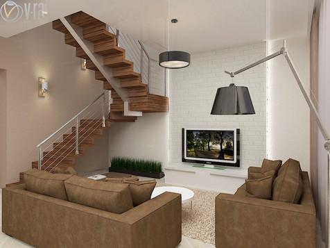 1 этаж в доме