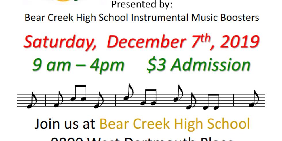 Bear Creek High School Crafts Fair