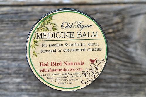 Old Thyme Medicine Balm, 2 ounces