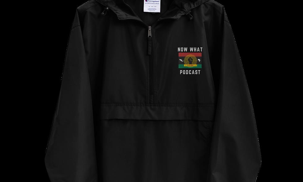 Black Champion Packable Jacket