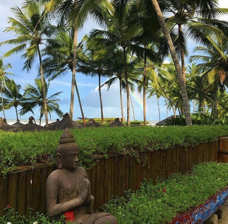 Buddha na canoa
