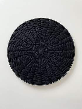 Minimalist Kloud fos (cloud wall) XL Black