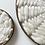 Thumbnail: Pair of Minimalist Kloud fos (cloud wall) Ivory and dark wood