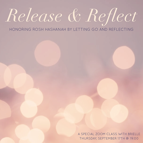 Release + Reflect Online Event