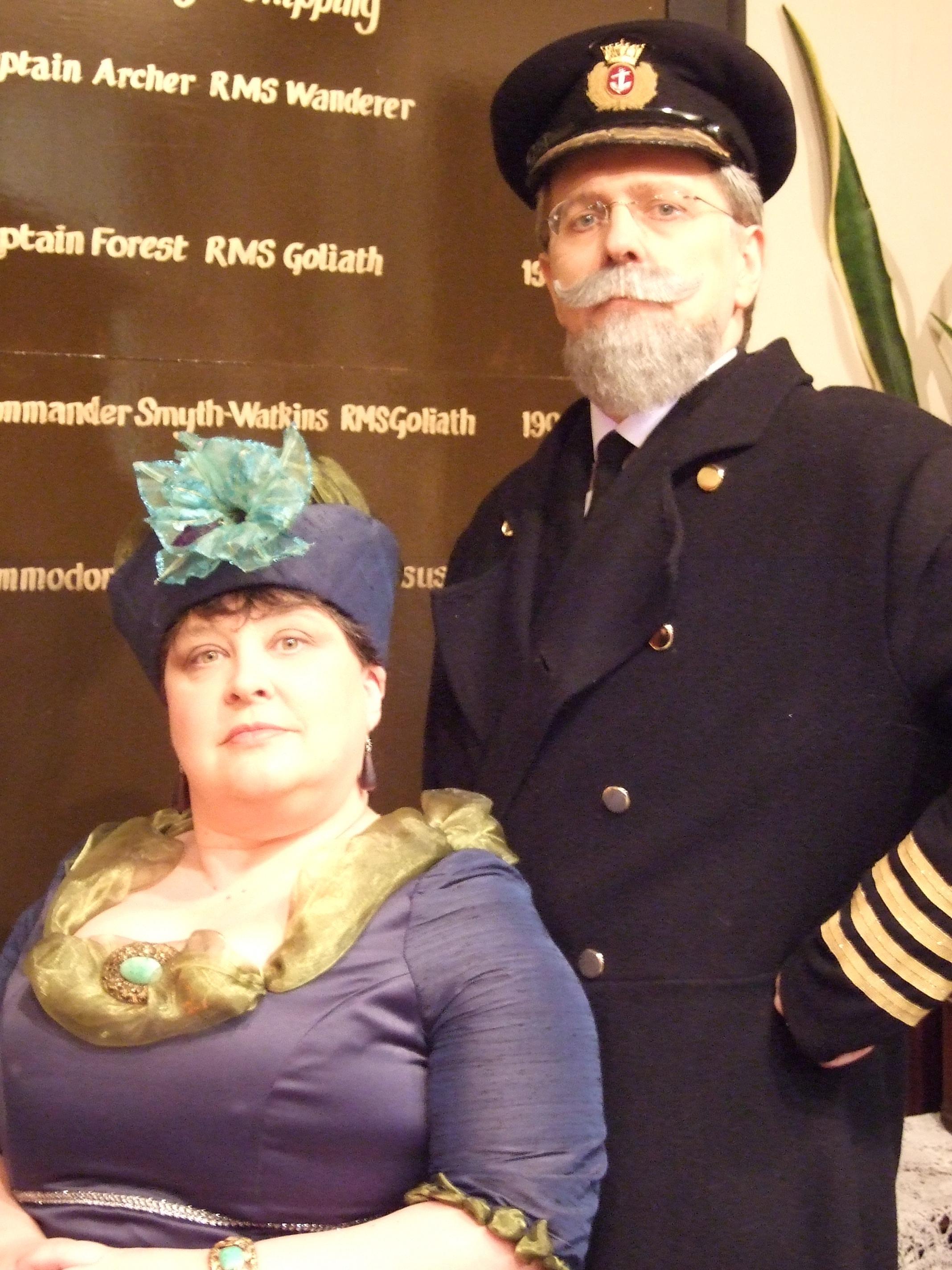Captain & Mrs Pearson - 14.2.10