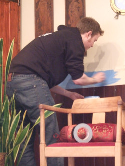Painting the Plimsole Line - 14.2.10
