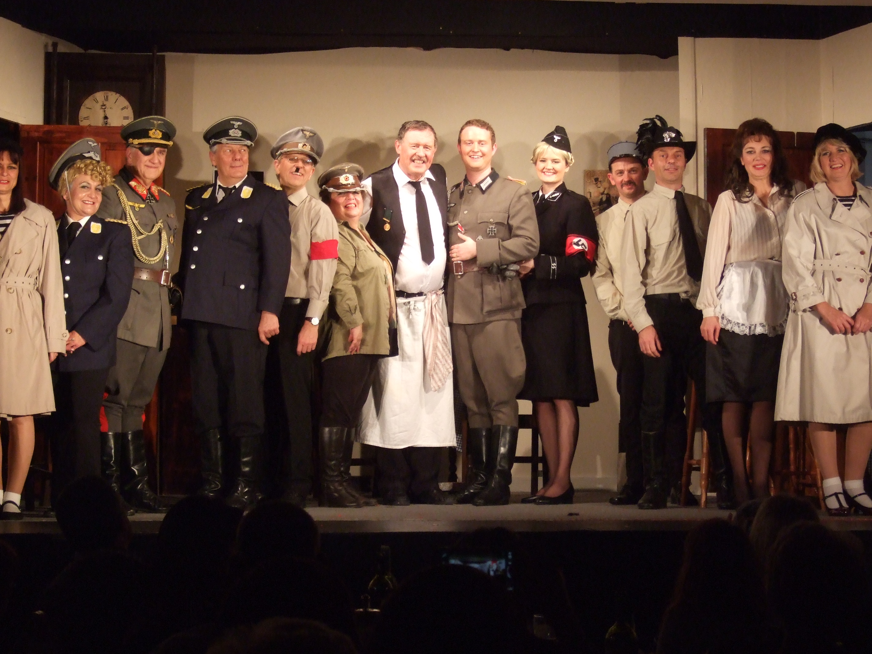AA53 - Last Night - Cast Photo at Curtain Call (1)