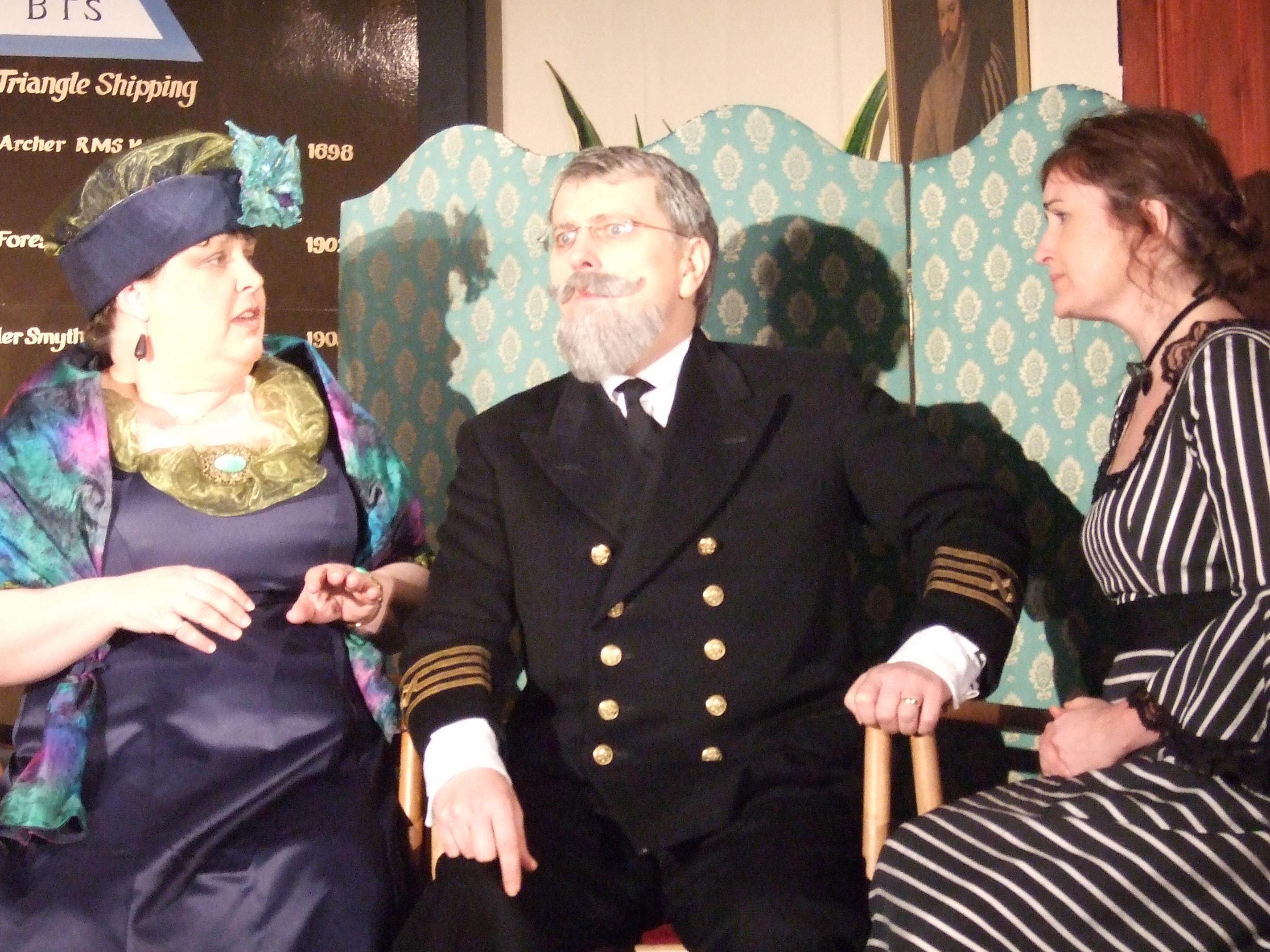Capt Edward Pearson & Worried Women - 14.2.10
