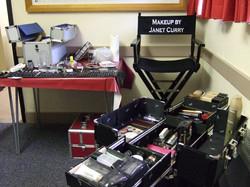 CF First Night 11 - Make-up corner