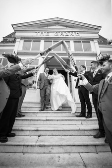 Grand hotel folkstone wedding