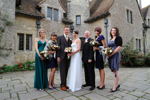 lympne castle wedding group