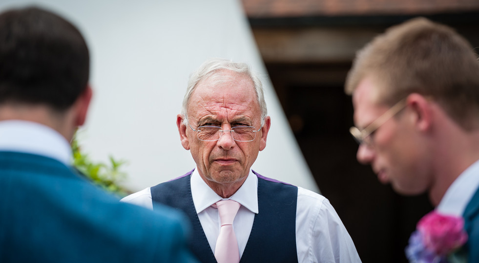 Father of the groom