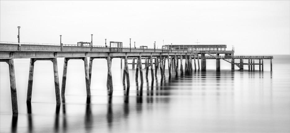 Deal Pier Monochrome