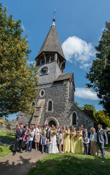 worth church wedding