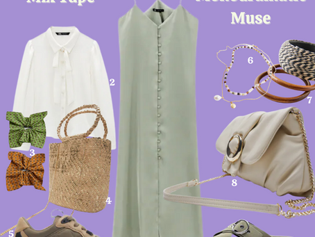 How to Style Your Favourite Zara Slip Dress